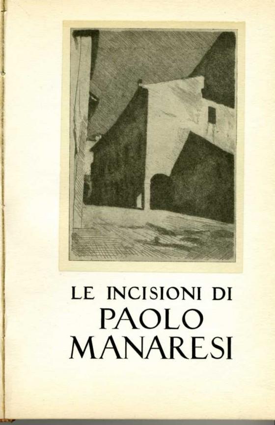 1953 Le incisioni di Paolo Manaresi