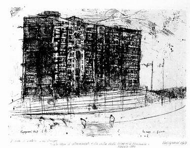 Renzo Vespignani, La casa di Gianna, 1947 [1983]