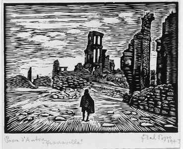 Francesco Dal Pozzo, Francavilla, 1947 dalla serie Distruzione della guerra in Abruzzo