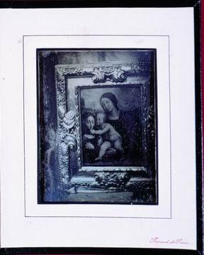 Philibert Perraud, Quadro di Giacomo Francia, 1846. (Roma, ICCD - Museo Archivio della Fotografia Storica, Collezione Becchetti)