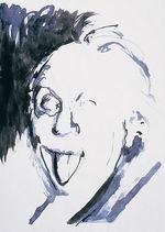 Stefano Arienti Raccolta di lavori, 1994 (particolare) tecnica mista su carta