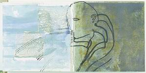 Mimmo Paladino Film, 1998 (particolare) libro composto da 48 monotipi su carta con interventi a pastello e olio