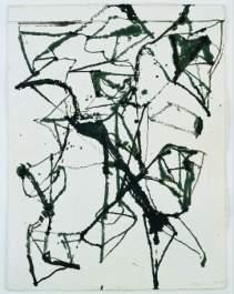 Primo disegno , 1986-87  Inchiostro su carta  Collezione dell'Artista  Courtesy of Matthew Marks Gallery, New York