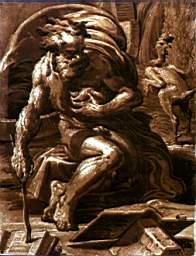 Diogene 1526-1527 da Parmigianino