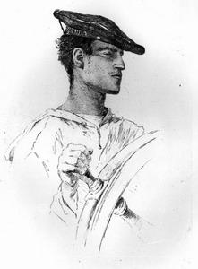 Antonio Piccinni Il Timoniere  Hèliogravure