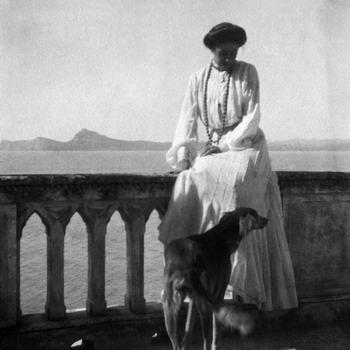Anna Maria Borghese de Ferrari Isola del Garda, 1905 © Collezione Cavazza