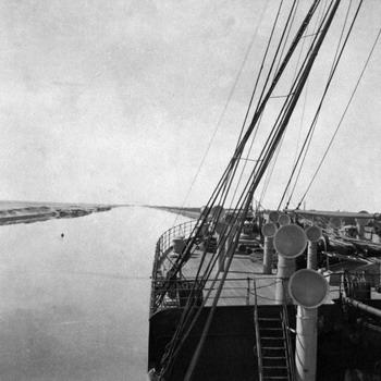 Anna Maria Borghese de Ferrari Canale di Suez, 1907 © Collezione Cavazza