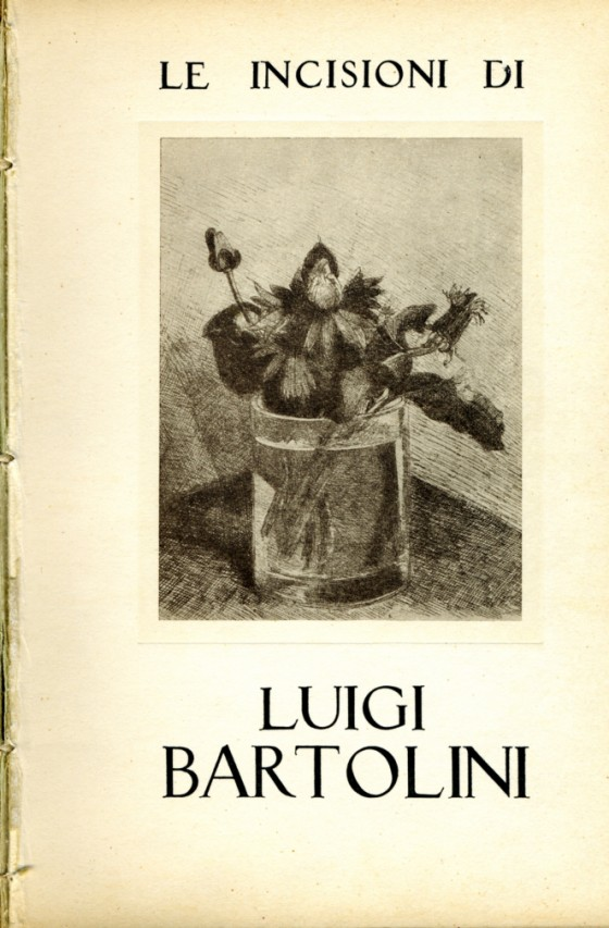 1951 Le incisioni di Luigi Bartolini