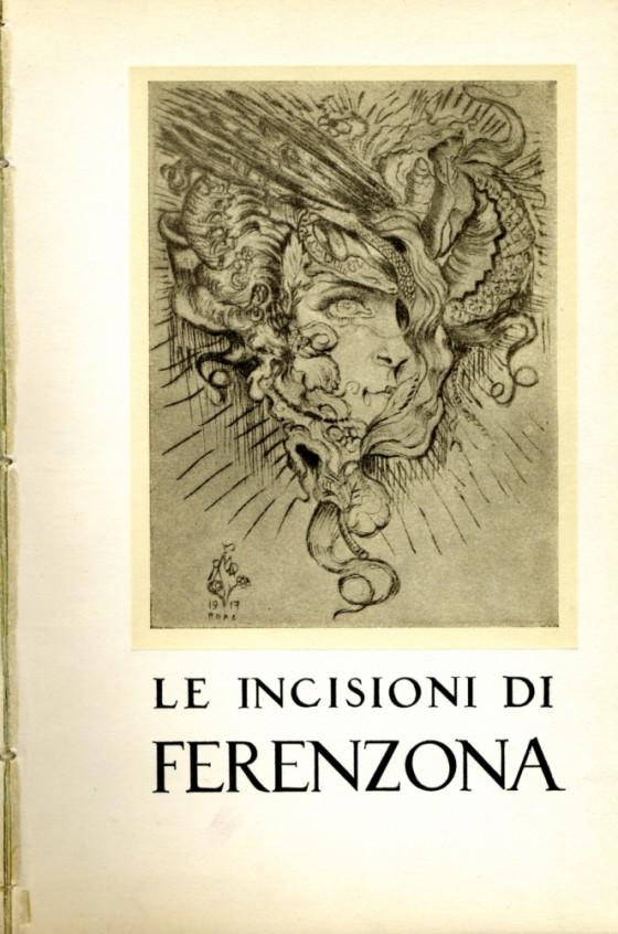 1952 Le incisioni di Ferenzona