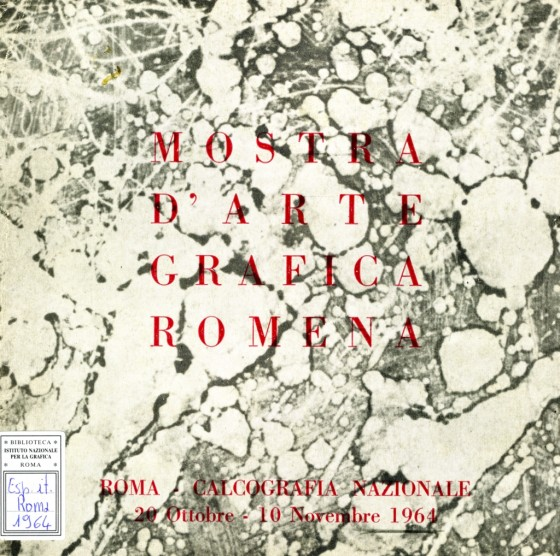 1964 Mostra d'arte grafica romena
