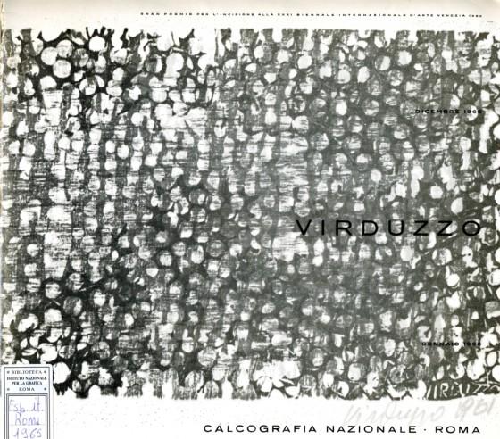 1965 Antonio Virduzzo. Opera grafica