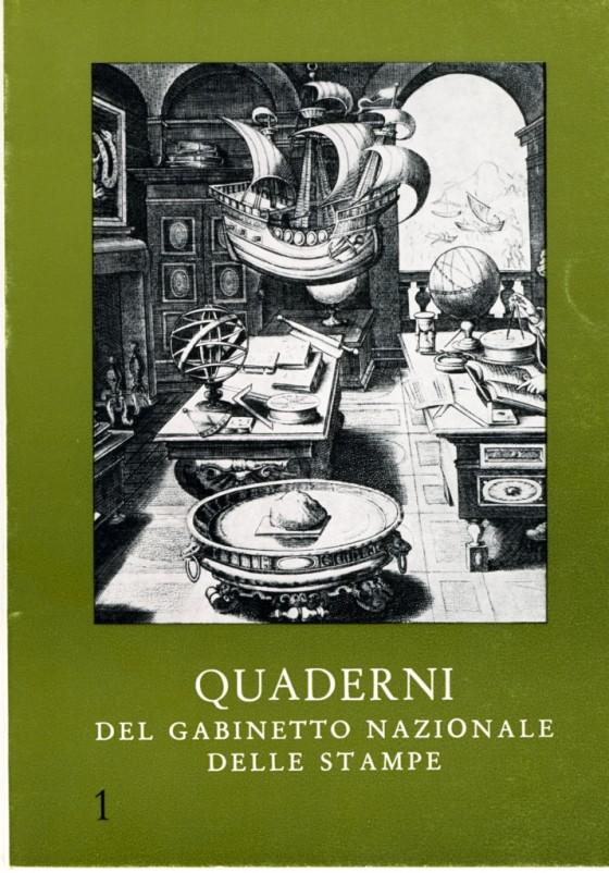1969 Quaderni del Gabinetto Nazionale delle Stampe n. 1