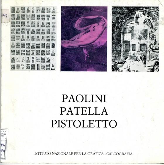 1980 Paolini Patella Pistoletto