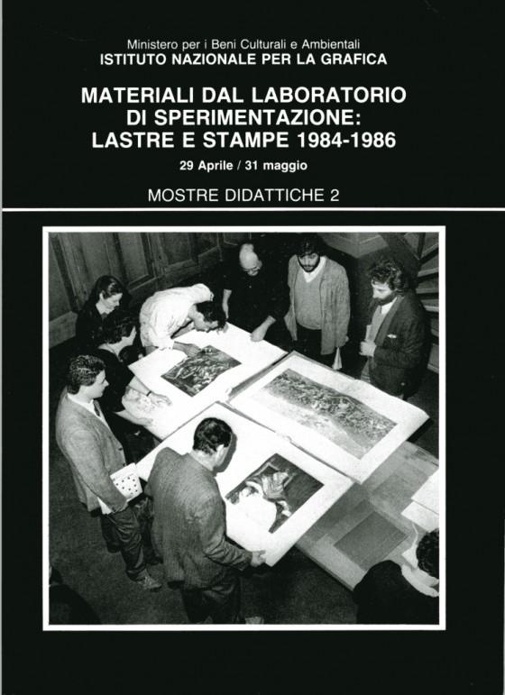 1984 Materiali del laboratorio