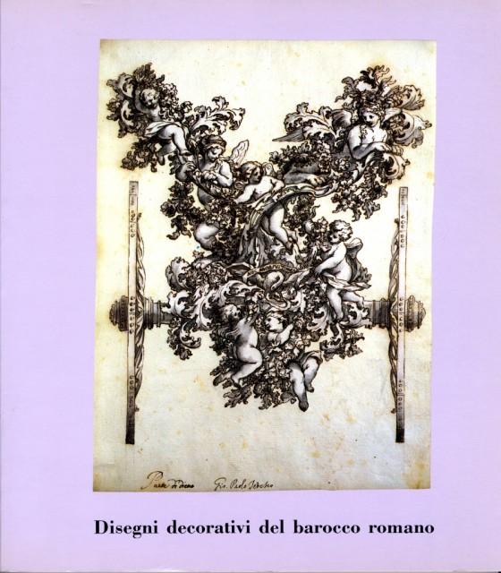 1986 Disegni decorativi del barocco romano