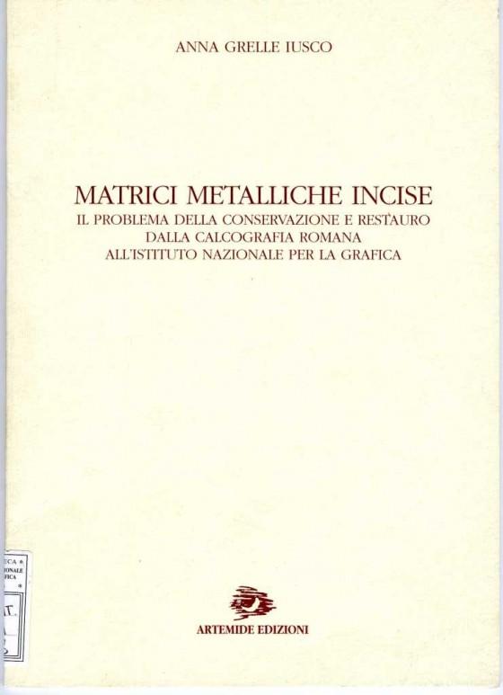 1998 Matrici metalliche
