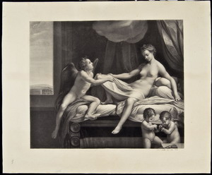La Danae, 1873 carboncino,  mm 505x612 Roma, ING