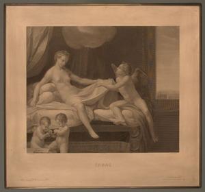 La Danae, 1874 – 1879 Acquaforte puntasecca bulino su rame mm 545x590 Roma, ING