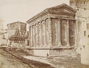 E. Constant, Tempio della Fortuna Virile, 1848-1850