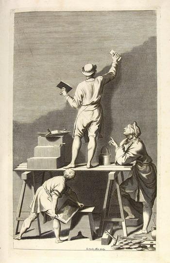 O8.04. A. Pozzo Perspectiva II,Dell'istruzione per dipingere