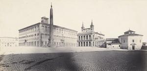 R. Macpherson, Piazza san Giovanni  in Laterano, 1865-1870