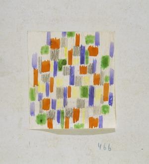 Senza titolo, 1933 Gouache su carta Courtesy Fondazione Marconi, Milano
