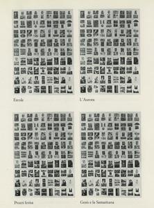 zincografia stampata su torchio calcografico,  dalla cartella Paolini Patella Pistoletto, Roma, Istituto Nazionale per la Grafica, 1980