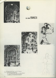 Stadio intermedio della interferenza dei segni, dal Tempio della Tosse serigrafia dalla cartella Paolini Patella Pistoletto, Roma, Istituto Nazionale per la Grafica, 1980