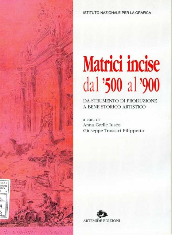 2004 Matrici incise