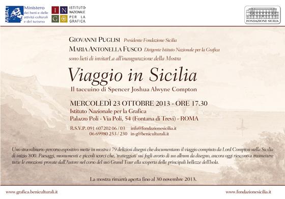 invito Viaggio in Sicilia