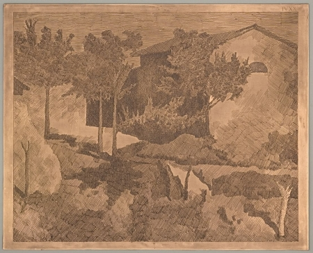 Giorgio Morandi Paesaggio del Poggio, 1927
