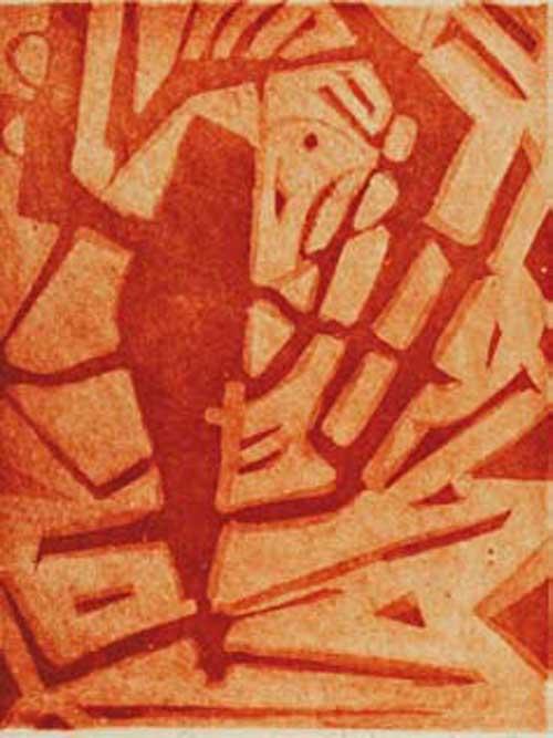 Bozzolo Stabiae n. 3,2006 acquaforte acquatinta