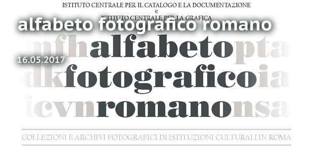 alfabetico fotografico romano