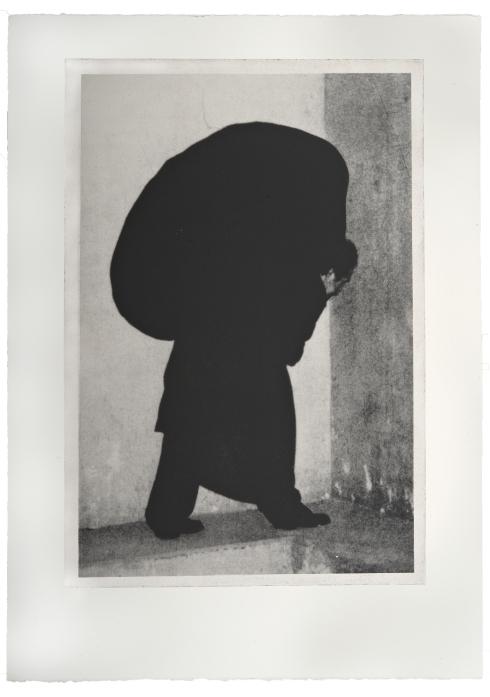 Opus I #47, 2003-2005, fotoserigrafia (Foto originale Magdalena Martinez Franco; Riproduzione fotografica Antonio Idini)