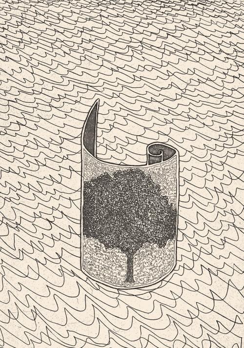 Albero nel rotolo, 1992