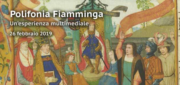 L'arte musicale della polifonia fiamminga, un'esperienza multimediale