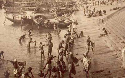 Il Gange a Calcutta