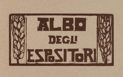 Albo degli Espositori – Catalogo dell'esposizione internazionale di xilografia – Levanto 1912